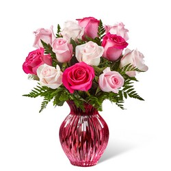 The FTD Happy Spring Mixed Rose Bouquet from Swindler and Sons Florists in Wilmington, OH