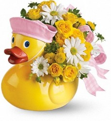 Ducky Delight (Girl) from Swindler and Sons Florists in Wilmington, OH