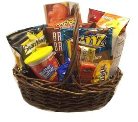 Snack Basket from Swindler and Sons Florists in Wilmington, OH