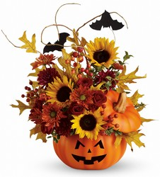 Teleflora's Trick Treat Bouquet from Swindler and Sons Florists in Wilmington, OH
