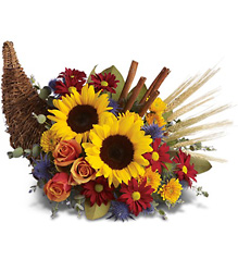 Classic Cornucopia from Swindler and Sons Florists in Wilmington, OH