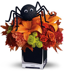 Teleflora's Spooky Sweet from Swindler and Sons Florists in Wilmington, OH