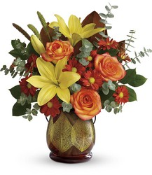Teleflora's Citrus Harvest Bouquet from Swindler and Sons Florists in Wilmington, OH