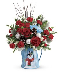 Teleflora's Snowy Daydreams Bouquet from Swindler and Sons Florists in Wilmington, OH