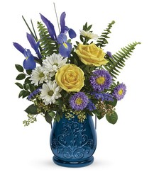 Teleflora's Sapphire Garden Bouquet from Swindler and Sons Florists in Wilmington, OH