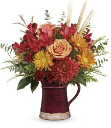 Teleflora's Fields Of Fall Bouquet from Swindler and Sons Florists in Wilmington, OH
