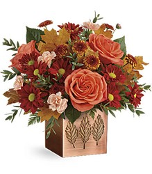Teleflora's Copper Petals Bouquet from Swindler and Sons Florists in Wilmington, OH