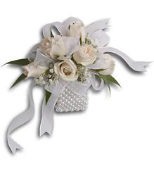 White Whisper Wristlet from Swindler and Sons Florists in Wilmington, OH