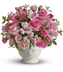 Teleflora's Pink Potpourri Bouquet from Swindler and Sons Florists in Wilmington, OH