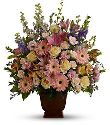 Sympathy flowers, funeral plants, sympathy arrangements to send to the service from Swindler & Sons Florists, your funeral florist in Wilimington, Ohio (OH.)