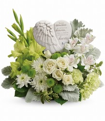Hearts In Heaven Bouquet from Swindler and Sons Florists in Wilmington, OH