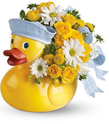 Teleflora's Ducky Delight from Swindler and Sons Florists in Wilmington, OH