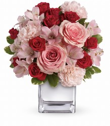 Teleflora's Love that Pink Bouquet from Swindler and Sons Florists in Wilmington, OH