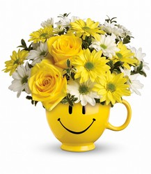 Teleflora's Be Happy Bouquet from Swindler and Sons Florists in Wilmington, OH