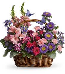 Country Basket Blooms from Swindler and Sons Florists in Wilmington, OH