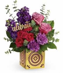Teleflora's Thrilled For You Bouquet from Swindler and Sons Florists in Wilmington, OH