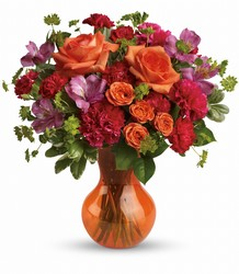 Teleflora's Fancy Free Bouquet from Swindler and Sons Florists in Wilmington, OH