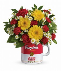 Campbell's Healthy Wishes by Teleflora from Swindler and Sons Florists in Wilmington, OH