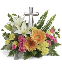 Teleflora's Precious Petals Bouquet from Swindler and Sons Florists in Wilmington, OH