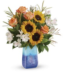Sunflower Beauty Bouquet from Swindler and Sons Florists in Wilmington, OH