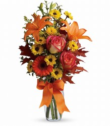 Burst of Autumn from Swindler and Sons Florists in Wilmington, OH