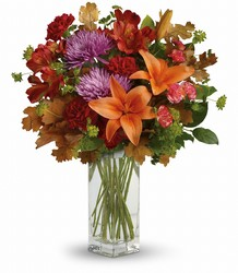 Teleflora's Fall Brights Bouquet from Swindler and Sons Florists in Wilmington, OH