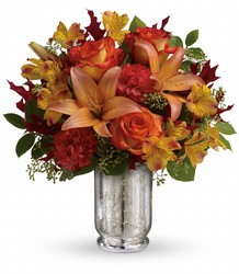 Teleflora's Fall Blush Bouquet from Swindler and Sons Florists in Wilmington, OH