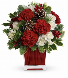 Make Merry by Teleflora from Swindler and Sons Florists in Wilmington, OH