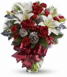 Holiday Enchantment Bouquet from Swindler and Sons Florists in Wilmington, OH