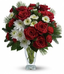Teleflora's Winter Kisses Bouquet from Swindler and Sons Florists in Wilmington, OH