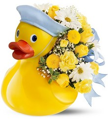 Teleflora's Just Ducky Bouquet from Swindler and Sons Florists in Wilmington, OH