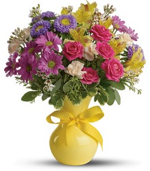 Color it Happy from Swindler and Sons Florists in Wilmington, OH