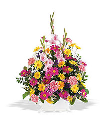 Spring Remembrance Basket from Swindler and Sons Florists in Wilmington, OH